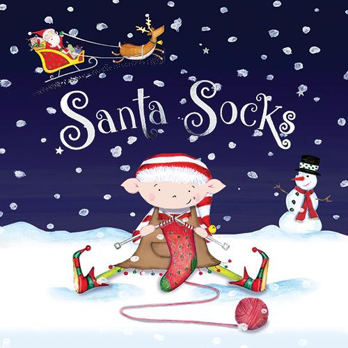 Santa Socks front cover
