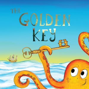 Front Cover of the Pirate Adventure Story Book The Golden Key