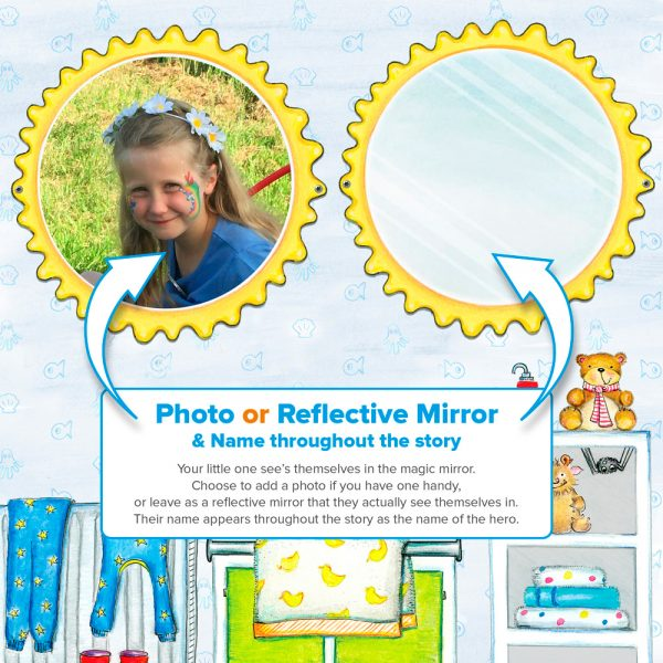 Personalised Book Photo and Mirror