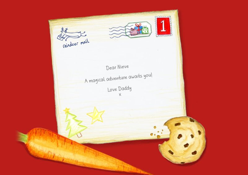 Personalized Dedication Letter to Santa