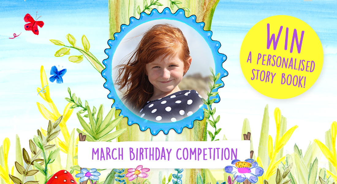 WIN a FREE personalised story book!