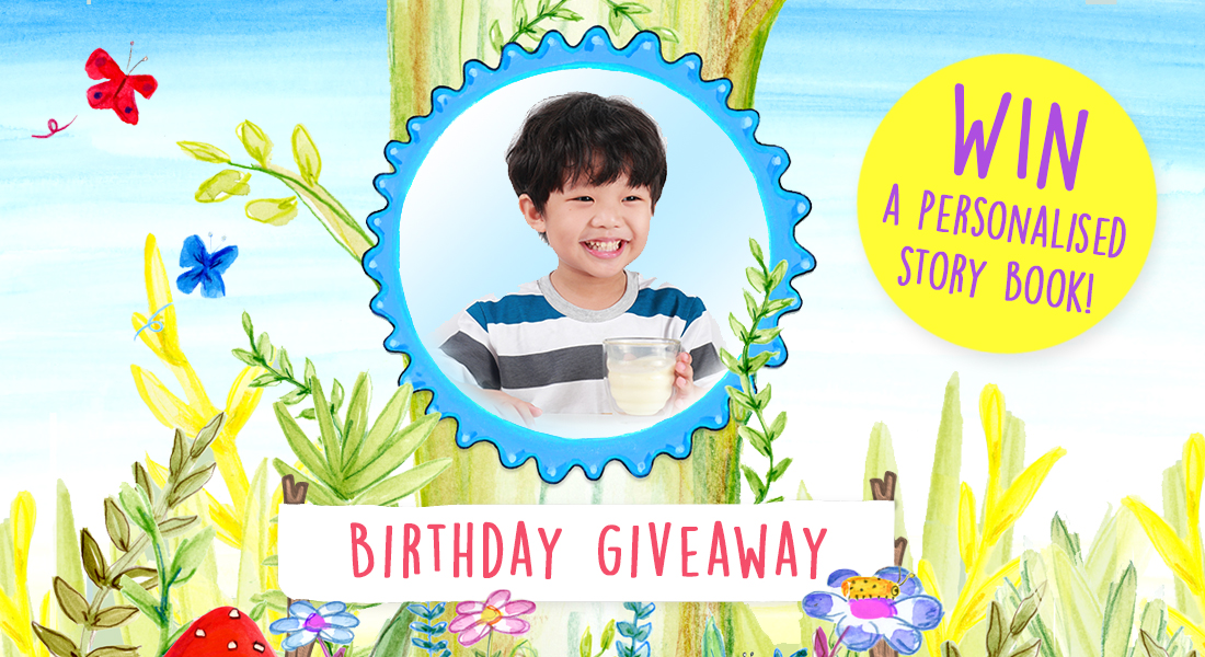 Birthday competition | Win a FREE story book!