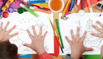 FREE colouring sheets for your little ones!