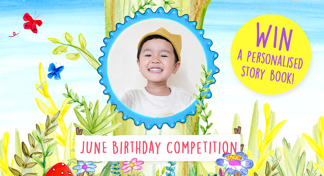 GIVEAWAY | Win a personalised story book!