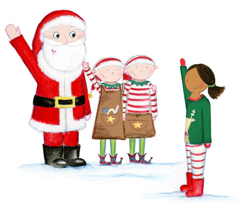 family activities Santa Letter