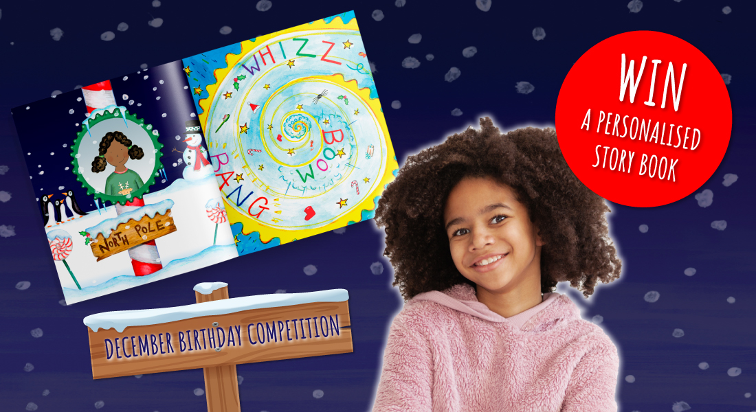 Birthday competition | Win a FREE story book! | December's Child