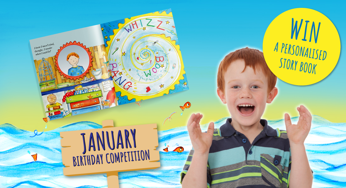 Birthday competition | Win a FREE story book! | January's Child