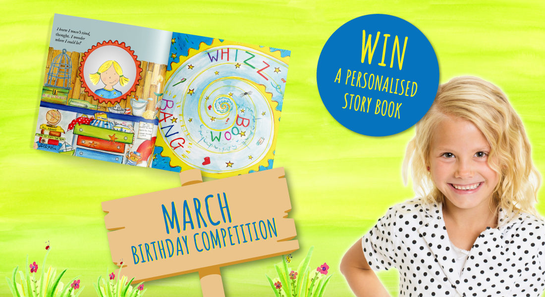 Birthday competition   Win a FREE story book!   March's Child