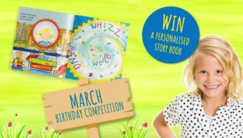 Birthday competition | Win a FREE story book! | March's Child