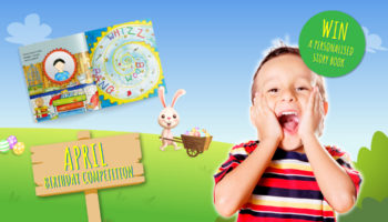 Birthday competition | Win a FREE story book! | April's Child